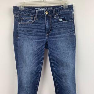 American Eagle Jeans Super Stretch Skinny Sz 4